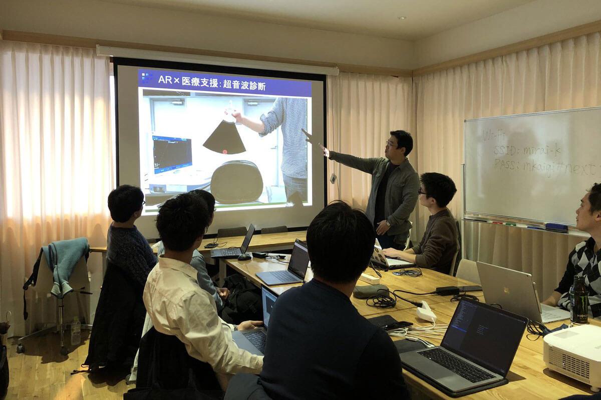勉強会の様子。吉永さんTwitterより(2020.1.29撮影)